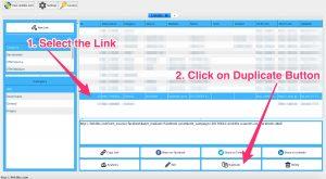 Linklibs - Duplicate a Link