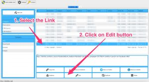 Linklibs - Edit Button