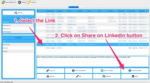 Linklibs - Share on Linkedin Button