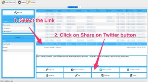 Linklibs - Share on Twitter Button