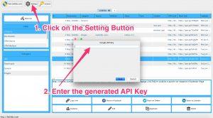 Linklibs - Set Google API Key